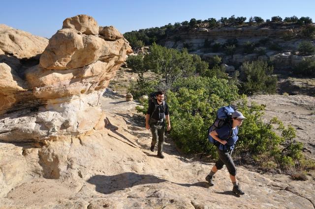 Continental_Divide_National_Scenic_Trail,_La_Leña_WSA_NM